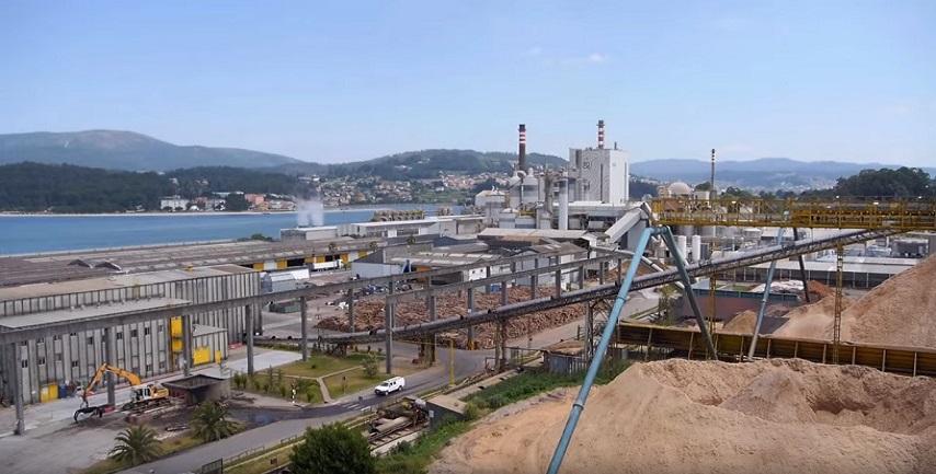 Ence te muestra cómo produce pasta de papel y energía con biomasa en su fábrica de Pontevedra
