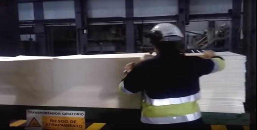 Fabricación de papel de alta calidad: última fase