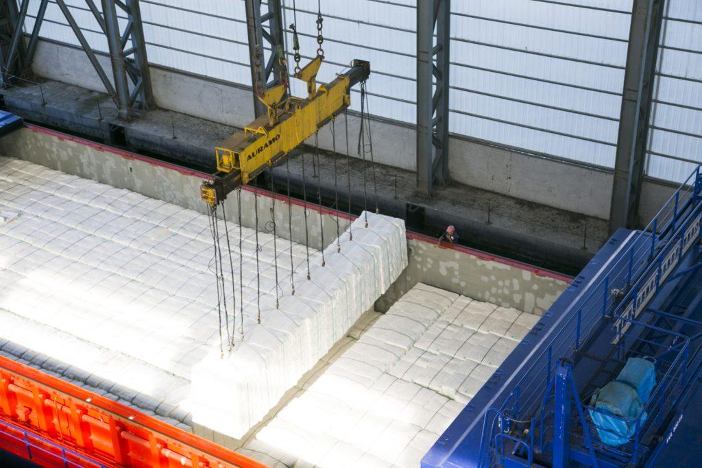 Ence cierra contratos de venta de celulosa por 1,1 millones de toneladas para 2020