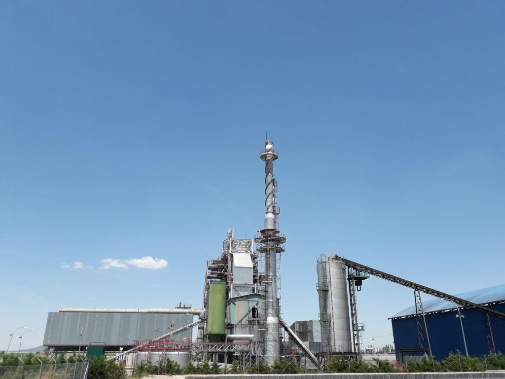 La planta de energía con biomasa de Ence en Ciudad Real inició este domingo su parada técnica anual