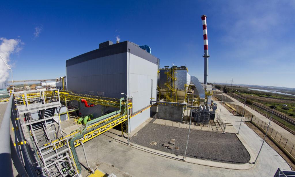 La parada técnica del complejo energético de Ence en Huelva genera puntas de hasta 1.000 personas trabajando de forma coordinada