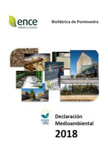Declaracion Ambiental biofábrica Ence Pontevedra