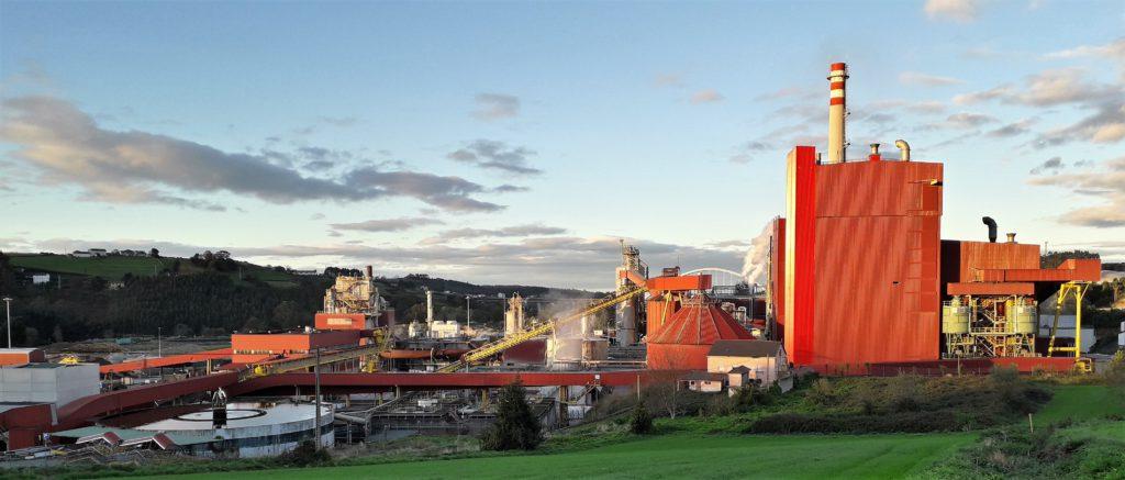 """La biofábrica de Ence en Navia inicia una parada para completar el proyecto de mejora de eficiencia y ampliación de capacidad """"Navia 80"""""""