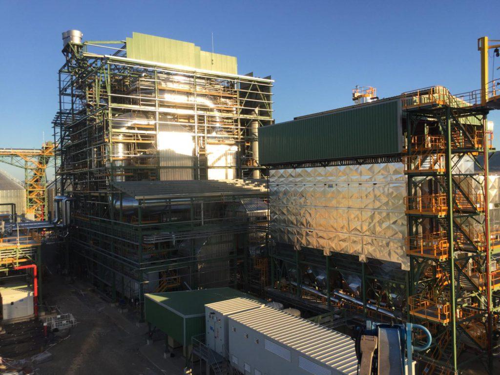 La nueva planta de 50 MW de Ence en Puertollano aporta sus primeros megavatios de energía a la Red Eléctrica