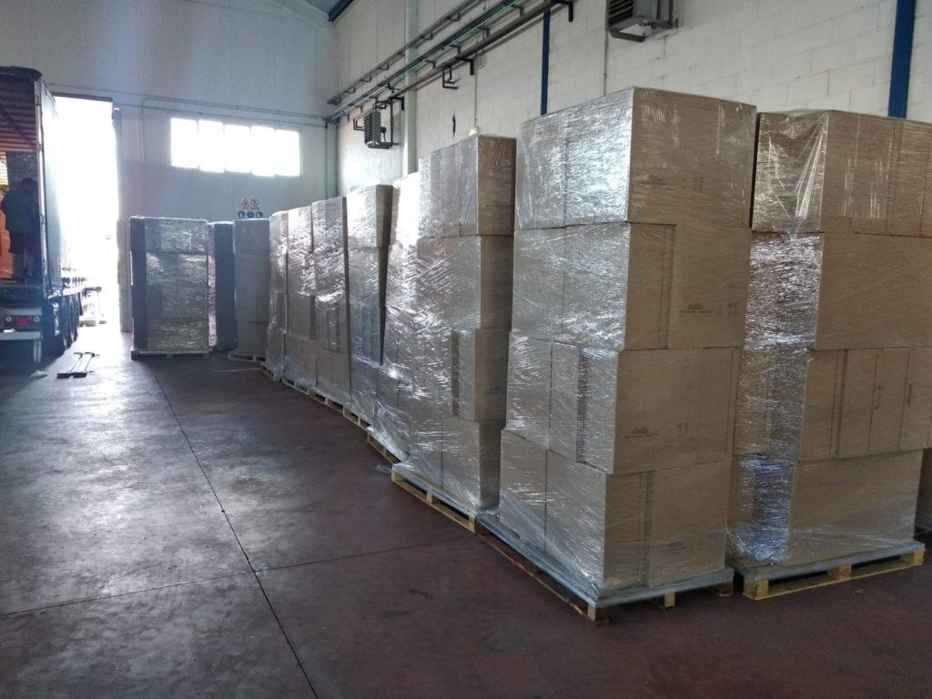 Ence y LC Paper donan material sanitario a Puertollano para apoyar en la recuperación de la crisis sanitaria