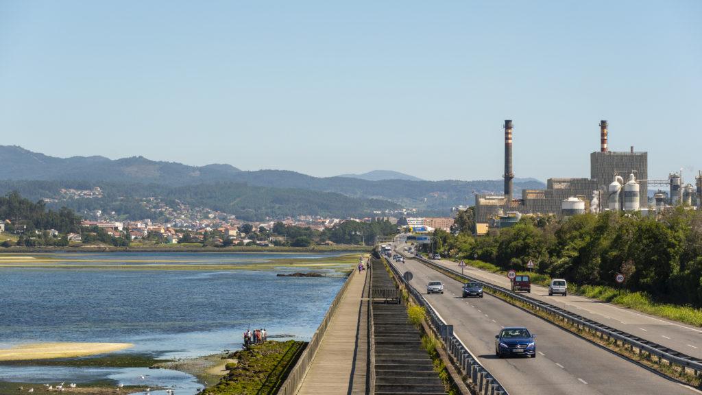 La biofábrica de Ence Pontevedra completa su parada técnica anual con total seguridad frente al coronavirus