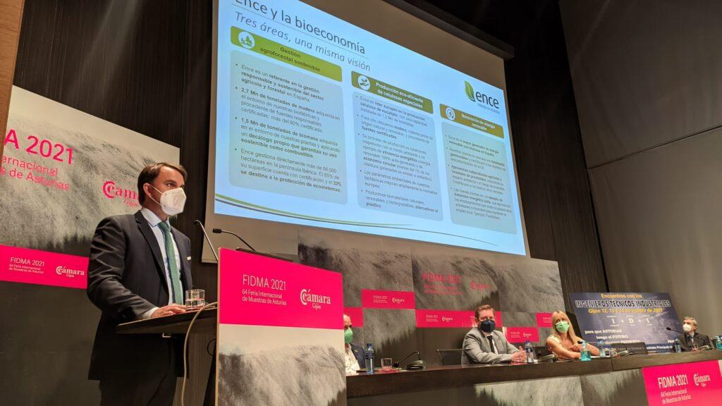 """Jordi Aguiló: """"Asturias es un territorio idóneo para realizar proyectos alineados con la transición ecológica, como los planteados desde Ence"""""""